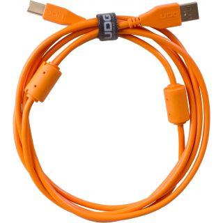 0 Udg U95002OR - ULTIMATE CAVO USB 2.0 A-B ORANGE STRAIGHT 2M Cavo usb