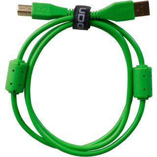 0 Udg U95003GR - ULTIMATE CAVO USB 2.0 A-B GREEN STRAIGHT 3M Cavo usb