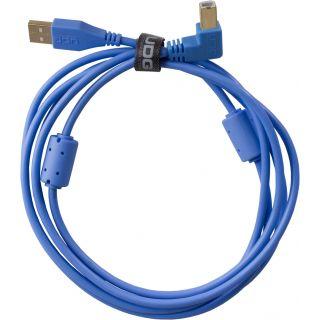 0 Udg U95006LB - ULTIMATE CAVO USB 2.0 A-B BLUE ANGLED 3M Cavo usb