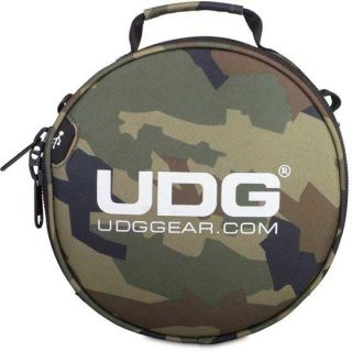 0 Udg U9950BC/OR - ULTIMATE DIGI HEADPHONE BAG BLACK CAMO, ORANGE INSIDE Custodia / borsa per attrezzature da dj