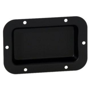 0 Adam Hall Hardware 8705 BLK - Piastra di Montaggio nera non stampata