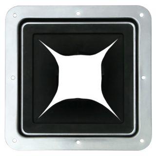 1 Adam Hall Hardware 87971 - Passaggio Cavi in Piastra di Montaggio