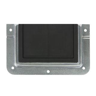 0 Adam Hall Hardware 87972 - Passaggio Cavi in Piastra di Montaggio a U