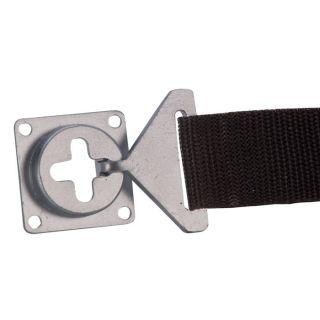 1 Adam Hall Hardware 87981 - Connettore da Pannello per Cinghia di Fissaggio 87983