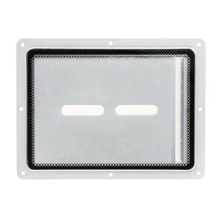 0 Adam Hall Hardware 88200 - Piatto di montaggio con inserto in plexiglass