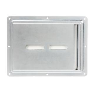 1 Adam Hall Hardware 88200 - Piatto di montaggio con inserto in plexiglass