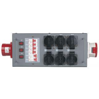 0 Showtec - Split Power 32 - Distributore di potenza con fusibile