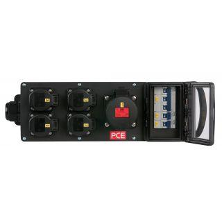 1 Showtec - MPD-416CEE Power Splitter - Powerdistribution