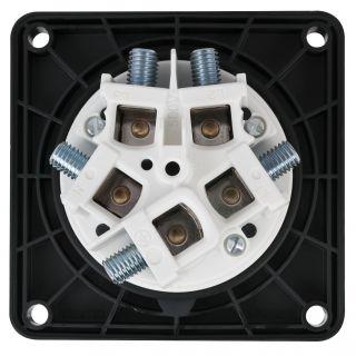 1 PCE - CEE 125A 400V 5p Socket Female - Nero, IP67