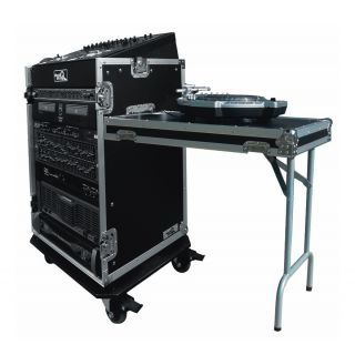 ROAD READY RR11M16UCT - Case per Mixer + Supporto per Console DJ