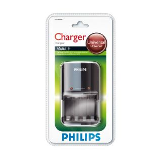 0 PHILIPS - Caricatore batterie AA e AAA