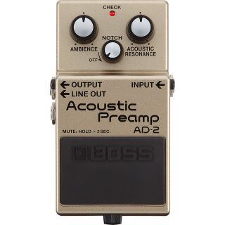 BOSS AD2 - Acoustic Preamp_front