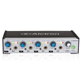 Alctron HA400 - Amplificatore per Cuffie 4 Ch