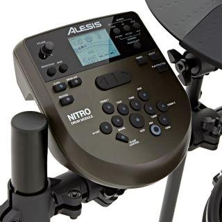 Alesis Nitro Mesh Kit - Batteria Elettronica con Sgabello, Cuffie e Bacchette02