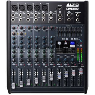Alto Professional Live 802 - Mixer Audio 6 Canali