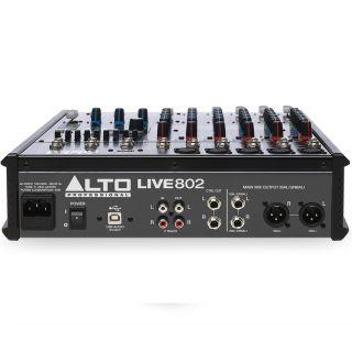 Alto Professional Live 802 - Mixer Audio 6 Canali03