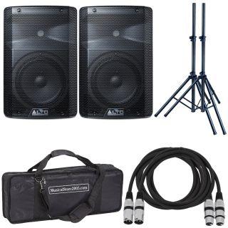 Alto TX210 (Coppia) - Cassa Amplificata DJ Attiva Impianto Karaoke Completo Professionale