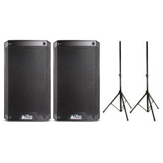 Alto Professional Truesonic TS308 (Coppia) con Speaker Stand in Omaggio 2000W