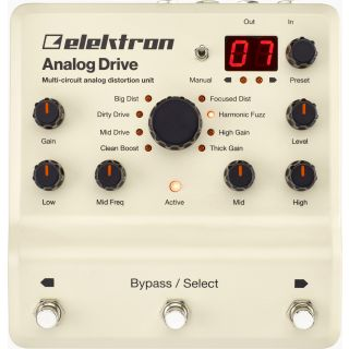 ELEKTRON ANALOG DRIVE - Analog Distortion Box_front