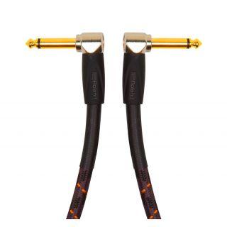 ROLAND Cavo Patch Serie Gold Jack Angolato / Jack Angolato 30cm