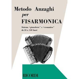 1 Anzaghi Ricordi Metodo Completo Teorico-Pratico Progressivo per Fisarmonica