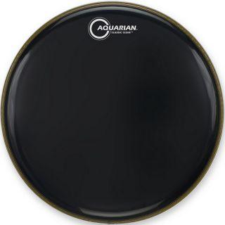 "Aquarian CC15 BK - Pelle Nera Monostrato per Batteria 15"""