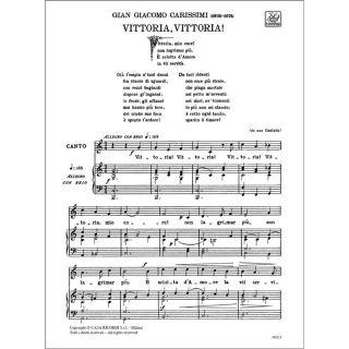 Ricordi Alessandro Parisotti Arie Antiche: 30 Arie Volume I02