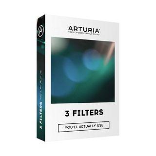 Arturia 3 Filters - Raccolta di 3 Filtri Synth (Mini-Filter, M12 Filter, SEM Filter)