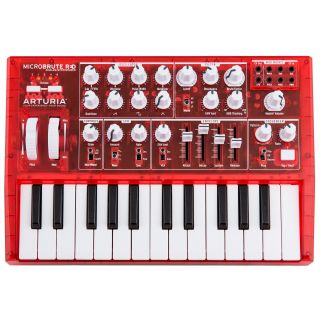 Arturia microBrute red front