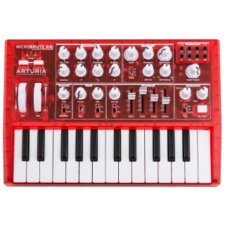 ARTURIA MICROBRUTE 25 RED Limited Edition Synth 25 Tasti Mini_front
