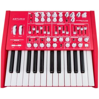 ARTURIA MINIBRUTE RED Limited Edition Synth 25 Tasti Mini_front