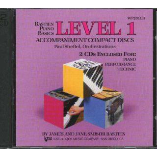 Bastien piano basics level1 cd