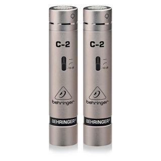 1 Behringer C2 (COPPIA) di Microfoni a Condensatore