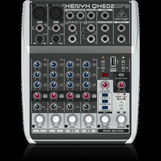 BEHRINGER QX602MP3 - Behringer presenta il nuovo mixer Xenyx
