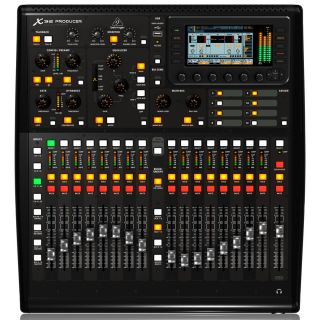 Behringer X32 Producer TP - Mixer Digitale 40 Ch con Flight Case02