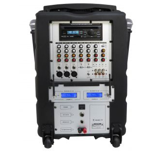 KARMA BM 895 - Diffusore Amplificato_back