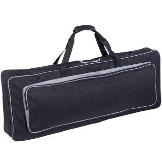 1 SOUNDSATION SB19 Custodia Borsa per Tastiera con Tracolla e Tasca (122x42x16)