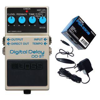 Boss DD-3T Delay Digitale per Chitarra con Alimentatore 9V