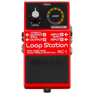 Boss RC1 Pedale Loop Station / Effetto Pedale Looper per Chitarra Elettrica