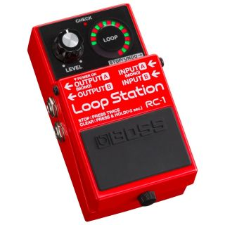 Boss RC1 Pedale Loop Station / Effetto Pedale Looper per Chitarra Elettrica02