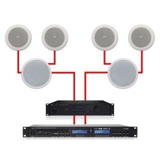 APART Sistema Audio ad Incasso 4.2 280W