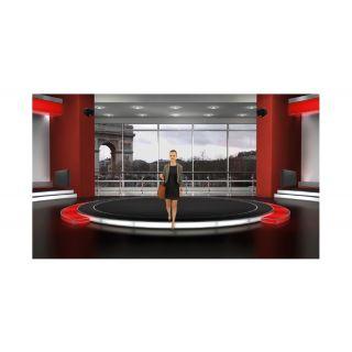 APART Sistema Audio da Parete Nero 4.2 360W02