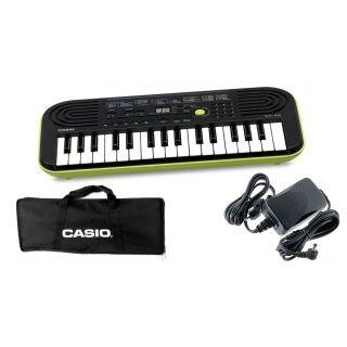 CASIO SA46 Tastiera 32 Tasti Mini / Custodia / Alimentatore Bundle