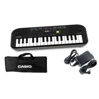 CASIO SA47 Tastiera 32 Tasti Mini / Minibag / Alimentatore Bundle