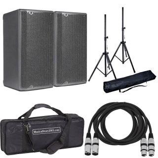 DB TECHNOLOGIES Coppia OPERA 10 Speaker Attivo 1200W / Stativi / Cavi XLR 10mt