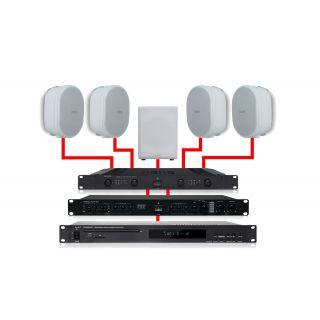 APART Impianto Audio 4.1 Bianco 460W
