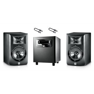 Bundle Monitor Attivi da Studio + Subwoofer + Cavi XLR/XLR 5mt