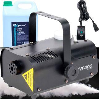 American DJ VF400 Pack - Macchina Fumo 400W con Liquido 5lt