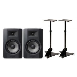 M-AUDIO Sistema Audio Coppia BX8 D3 Monitor da Studio / Supporti