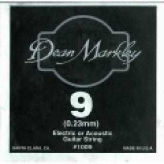 1 DEAN MARKLEY - Corda singola per Chitarra Elettrica Plain Steel, .009